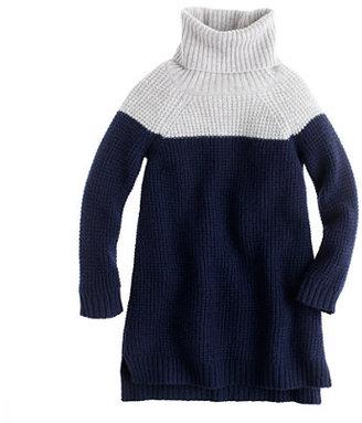 J.Crew Girls' colorblock lambswool tunic