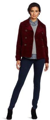 Jones New York Women's Classic Corduroy Pea Coat