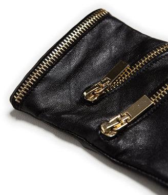 Zara Glove With Zip Detail