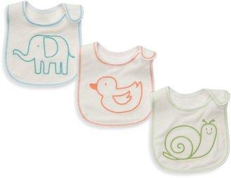 Carter's Animal-Themed 3-Pack Teething Bibs