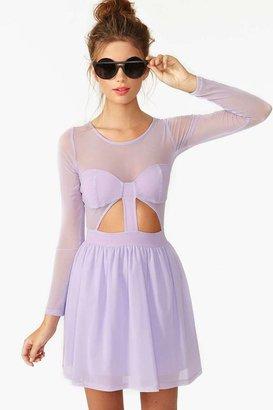 Nasty Gal Censored Skater Dress