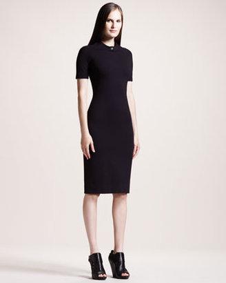 The Row Short-Sleeve Jersey Dress