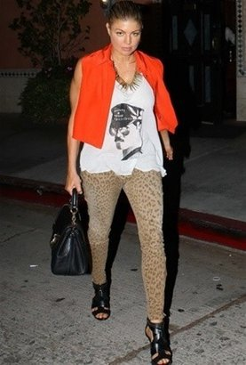 Current/Elliott Current Elliott The Stiletto in Camel Leopard as Seen On Ashley Tisdale
