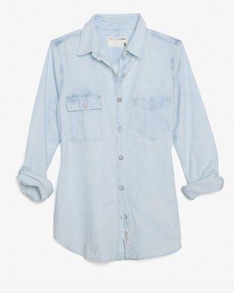Rag and Bone Bleachout Denim Shirt