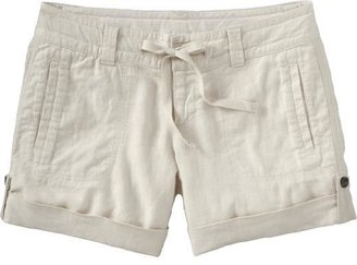 """Old Navy Women's Cuffed Linen-Blend Shorts (5"""")"""