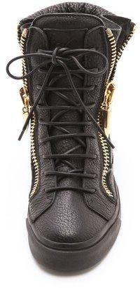 Giuseppe Zanotti London Zip High Sneakers