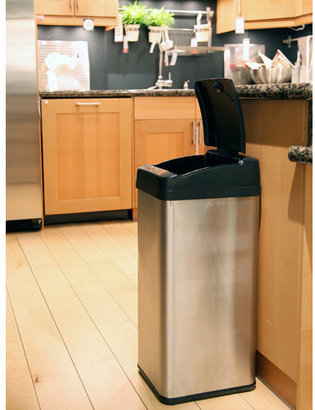 iTouchless 13-Gal. Extra-Wide Opening Touchless Trash Can