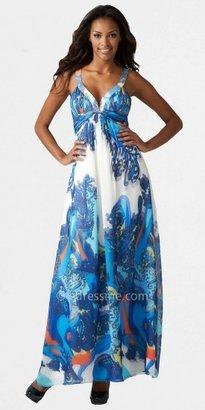 Aidan Mattox Size 2 Paisley Print Prom Dresses