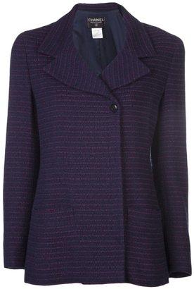 Chanel bouclé striped jacket