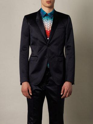 Burberry Satin single-breasted jacket