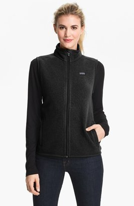 Women's Patagonia 'Better Sweater' Vest $99 thestylecure.com