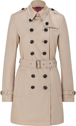 Burberry New Chino Beige Cotton Poplin Crombrooks Trench