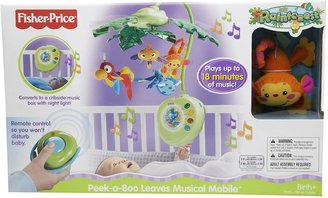 Fisher-Price Musical Mobile - Rainforest Peek-A-Boo Leaves