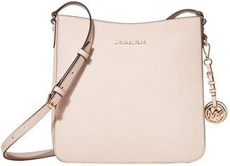 MICHAEL Michael Kors Jet Set Travel Large Messenger (Soft Pink) Cross Body Handbags