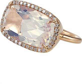 Irene Neuwirth JEWELRY One-Of-A-Kind Water Opal and Diamond Ring