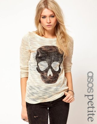 Asos Exclusive Sweater with Skull Print