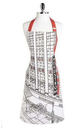 Nordstrom at Home Heritage Collection 'Seattle Flagship Storefront' Print Apron
