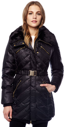 Michael Kors Belted Puffer Coat