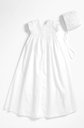 Little Things Mean a Lot Rosette Gown & Bonnet
