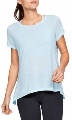 Under Armour Back Cut-Out Short-Sleeve Top