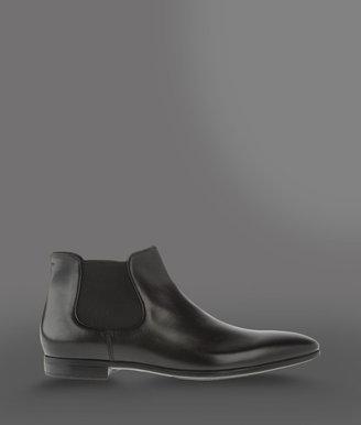 Giorgio Armani Beatle boot in nappa calfskin