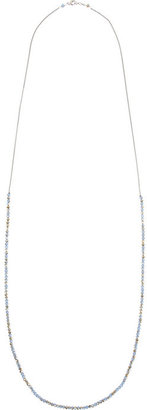 Chan Luu Silver beaded crystal necklace