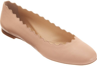 Chloé Scalloped Ballet Flat