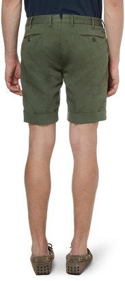 Incotex Slowear Linen and Cotton-Blend Shorts