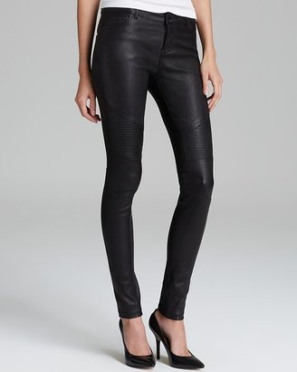 Vince Jeans - Moto Skinny Leather