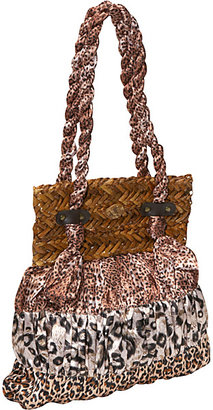 Capelli of New York Animal Print Dress Bag