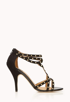 Forever 21 studded stiletto sandals