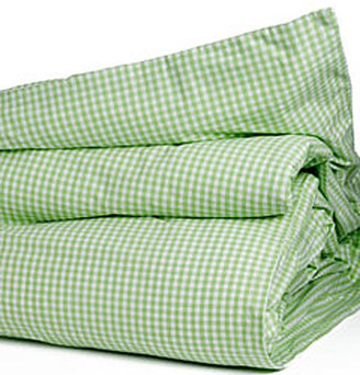 Gingham Check Twin Duvet Cover in Choice of Color