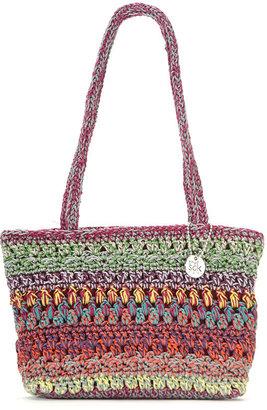 The Sak Janet Crochet Minis Satchel