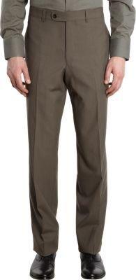 Barneys New York Pinstripe Straight Leg Pants