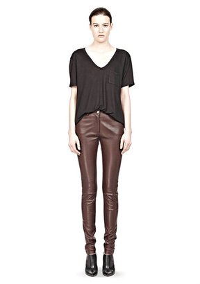 Alexander Wang Stretch Leather Jeans