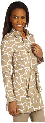 MICHAEL Michael Kors Giraffe Classic Trench