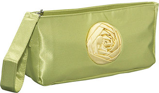 Global Elements Large Satin Clutch Wristlet