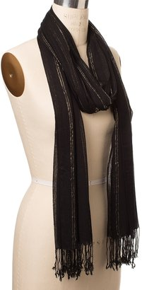 The Limited Shimmer Stripe Scarf
