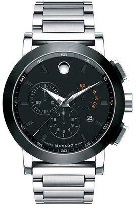 Men's Movado 'Museum Sport' Chronograph Bracelet Watch, 44Mm (Regular Retail Price: $1,295.00) $1,295 thestylecure.com