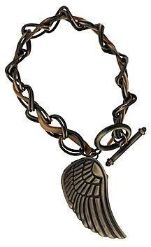 JCPenney Decree® Womens Braided Charm Watch Bracelet