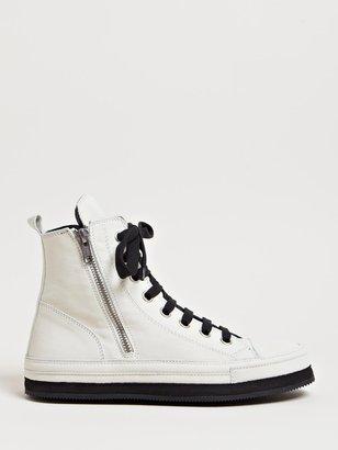 Ann Demeulemeester Women's Nubuck Hi-Top Sneakers