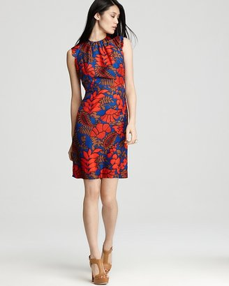 Milly Dress - Garden Print Louisa Sheath