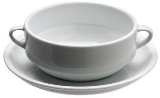 Sur La Table Café Collection Consommé Bowl and Saucer