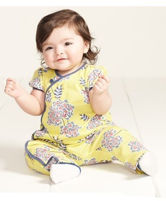 Tea Collection 'Chrysanthemum' Romper (Baby Girls)