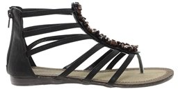 Blink Minou Flat Sandal - Brown