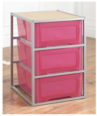 Kidspace Cyber 3-Drawer Tall Storage Unit