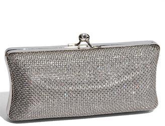 Tasha Mesh Covered Sequin Box Clutch