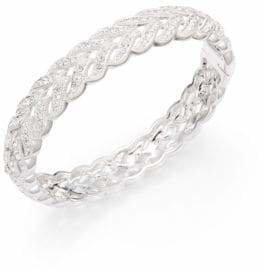 Adriana Orsini Pave Diamond Feather Bracelet