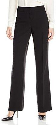 Kasper Women's Crepe Curvy-Fit Ava Suit Pant