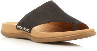 Gabor Lanzarote toe loop footbed sandals